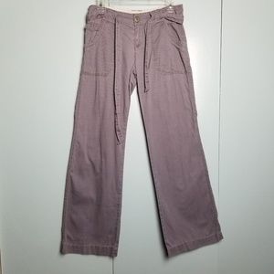 Anthropologie gray wide leg pants size 2 -C8